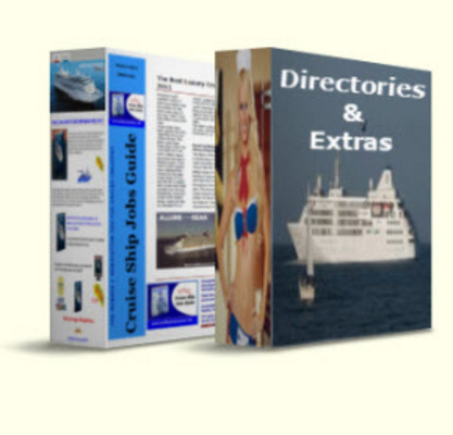 Product picture Cruise Ship Jobs Guide +Directories and many extras