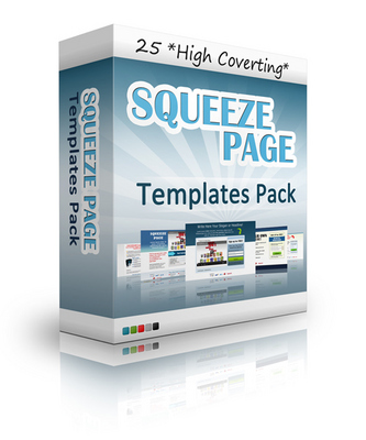 Product picture 25 Squeeze Pages With MRR