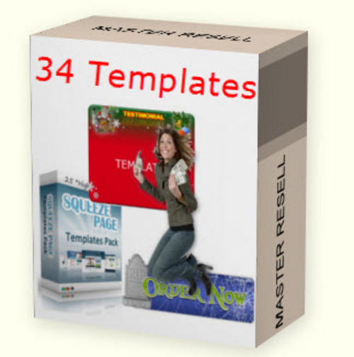 Product picture 34 Amazing mini templates MRR