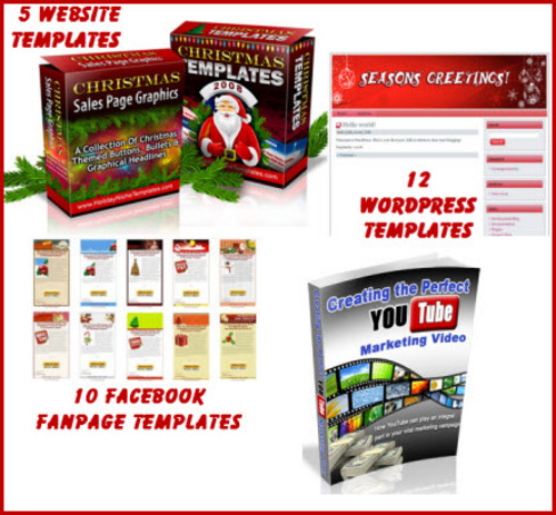 Product picture Christmas Templates super Package