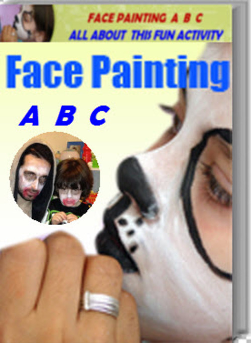 Product picture Face Painting ABC and Basic Face Painting ebooks