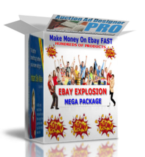Product picture EBAY EXPLOSION MEGA PACKAGE+ TEMPLATES